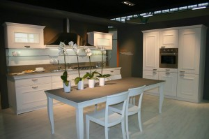 salone del mobile Bergamo, stand cucine Snaidero -mod. Gioconda ...