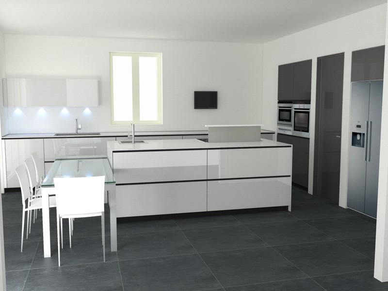 Forum colore cucina nuova ad isola - Progetti cucine con isola ...