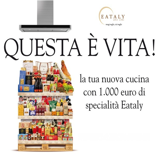 Promozione cucine 1000 euro in prodotti eataly - Cucine a 1000 euro ...