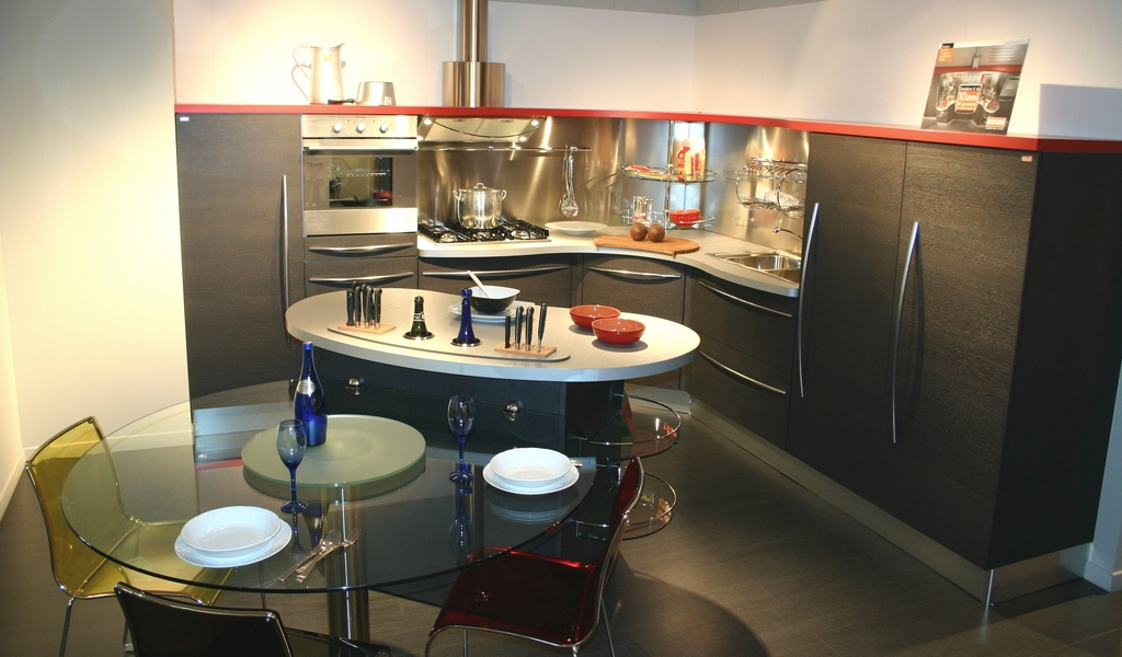 cucina-Skyline-Snaidero-in-esposizione- Carminati e ...