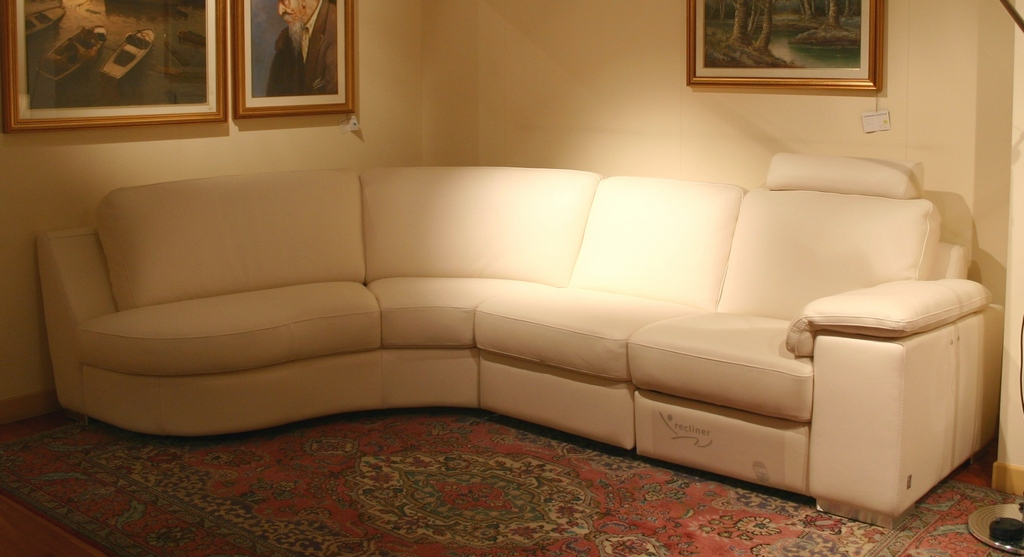 outlet divani: salotto Doimo Sofas pelle- Carminati e ...