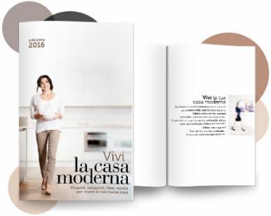 Catalogo on line arredamento la casa moderna a bergamo for Arredo casa moderna catalogo