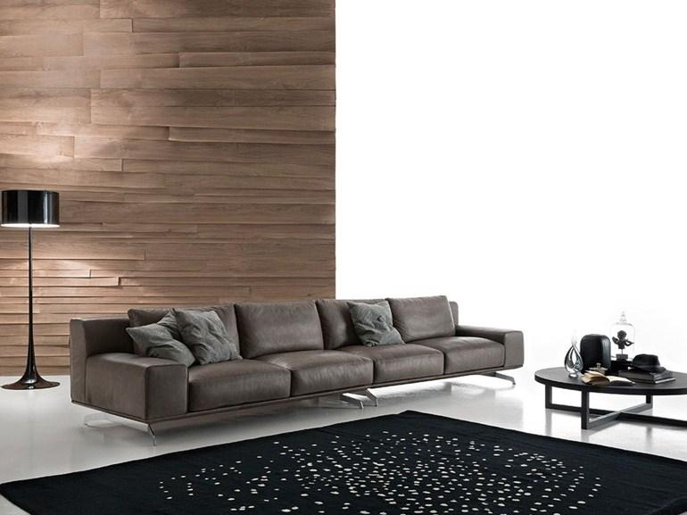 prezzzi promozione su divani Ditre Italia - divano Dalton DitreItalia - versione in pelle -1