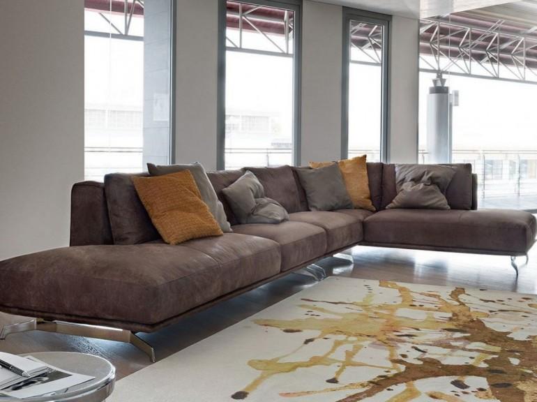 prezzzi promozione su divani Ditre Italia - divano Dalton DitreItalia - versione in ecopelle