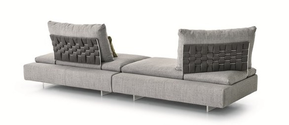 divano Limes Saba Italia, visto dal retro