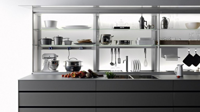 New Logical System: novità Valcucine in showroom a Zogno