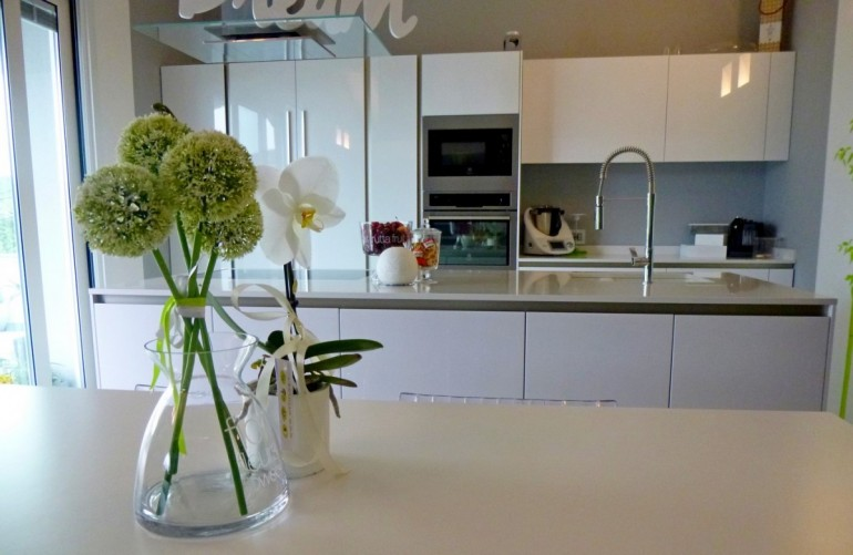 Arredamento moderno a Bergamo, isola per cucina Way Snaidero