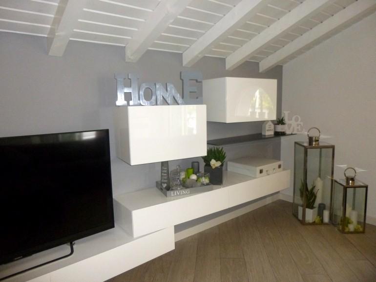 mobile da soggiorno Presotto Inclinart, arredamento moderno Bergamo