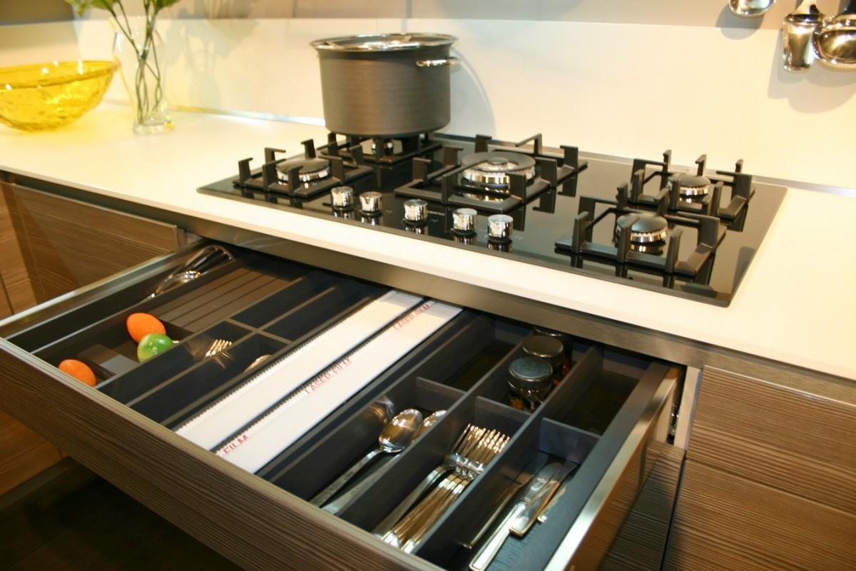 Cucine Da Esposizione In Offerta. Cucina Record Venere Bianca With ...