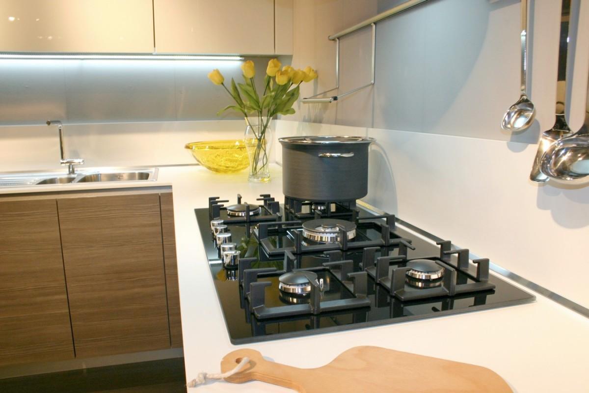 Paraschizzi cucina acciaio - Cucine a gas ikea ...