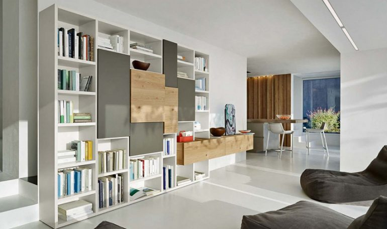 La tua casa da leggere: come scegliere il tuo mobile libreria a Bergamo