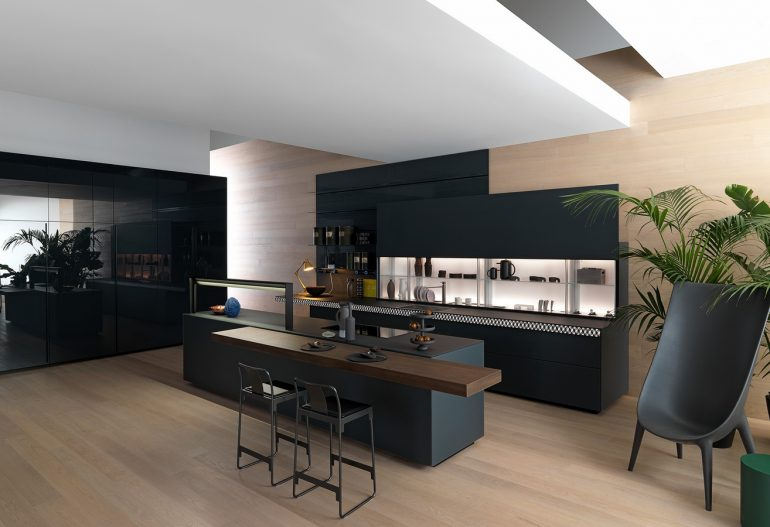 a Bergamo cucina Valcucine Genius Loci