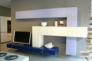 Lag-outlet-mobile-da-soggiorno-36e8-blu-bianco-lilla- | Carminati e ...