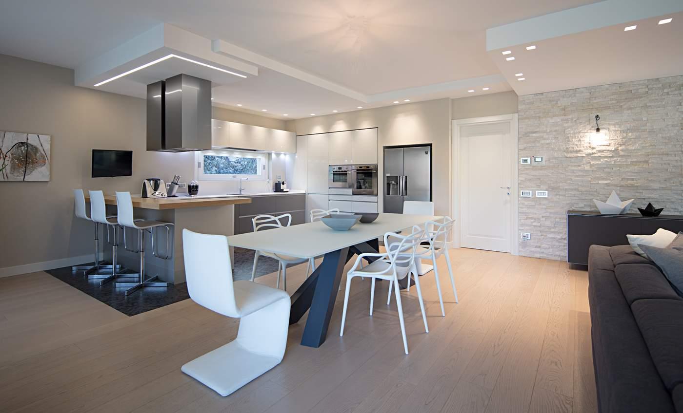 Arredamento Casa Moderno realizzazione arredamento moderno in bergamo | carminati e