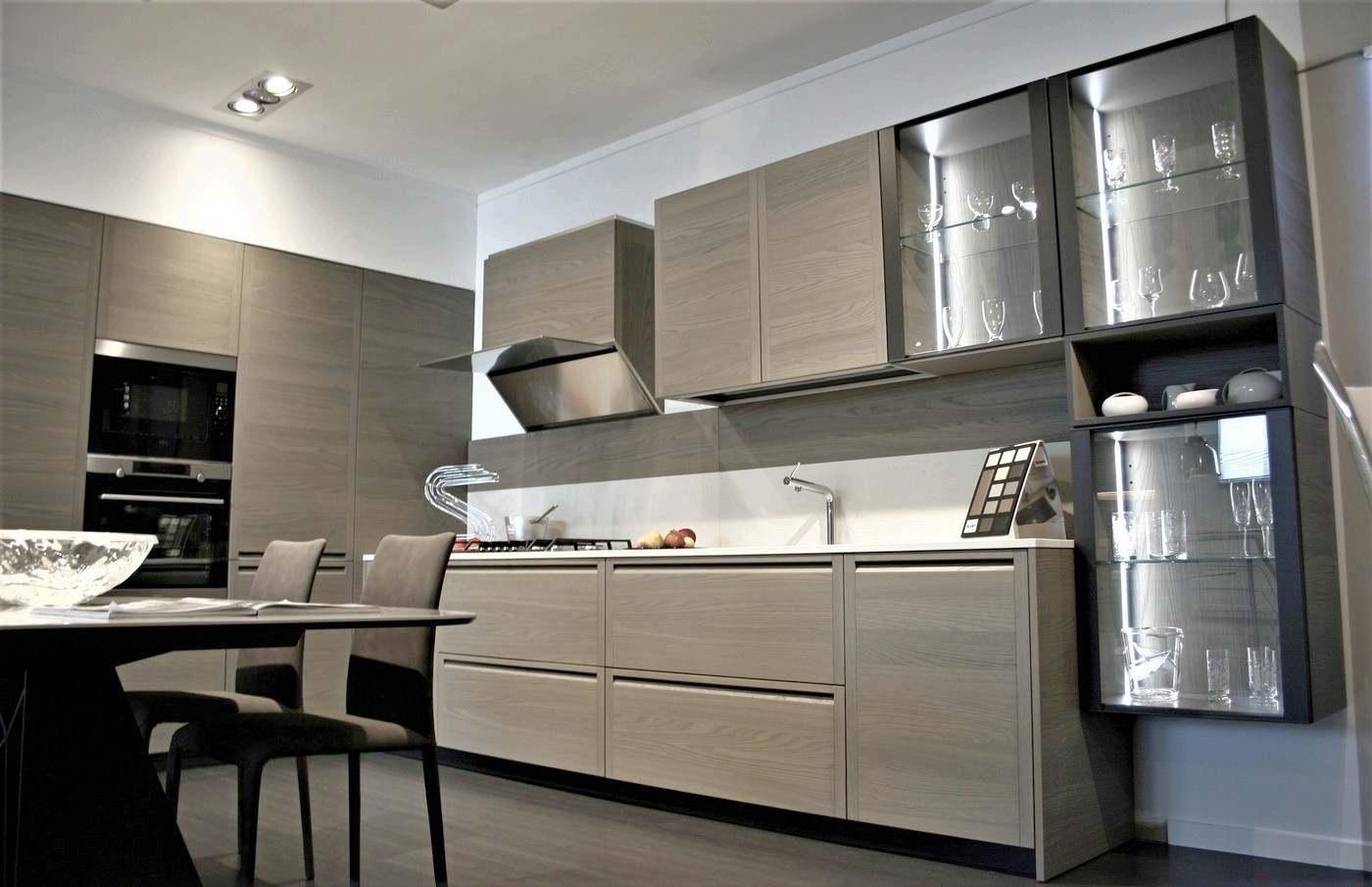 cucina Memo Mesons in offerta a prezzo d'occasione da esposizione Bergamo.