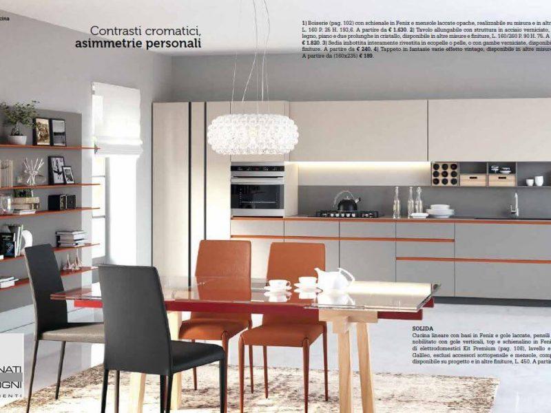 Cucina Solida - foto ricavata dal nostro catalogo La Casa Moderna che trovi qui nella home del ns. sito
