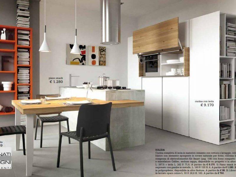 Cucina Solida - foto ricavata dal nostro catalogo La Casa Moderna