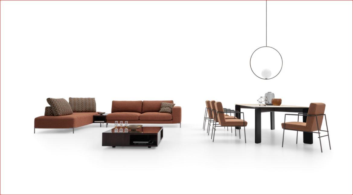 divano UNION DITRE ITALIA nel negozio di divani a Bergamo