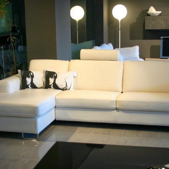 divano Doimo Sofa in pelle mod. Ricky