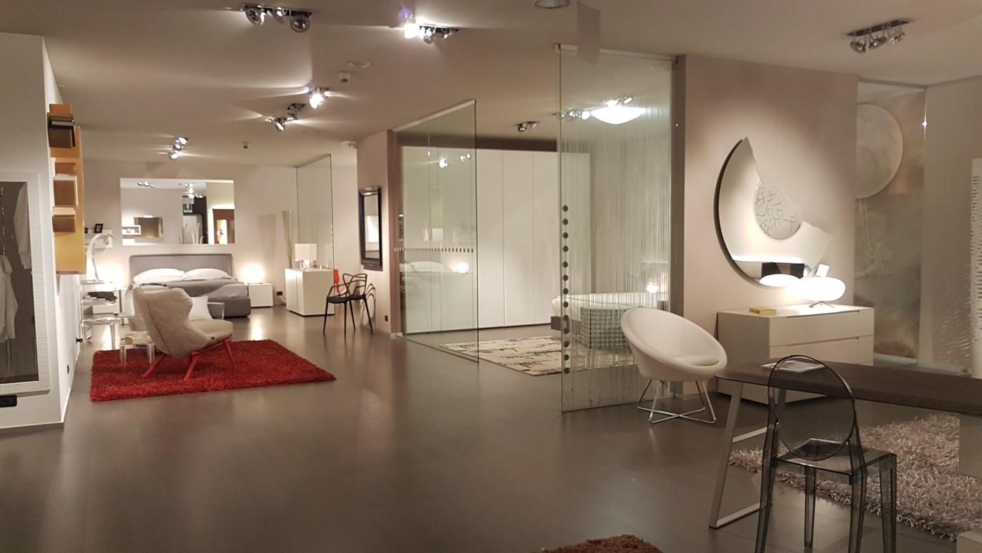 esposizione camere da letto moderne a Bergamo