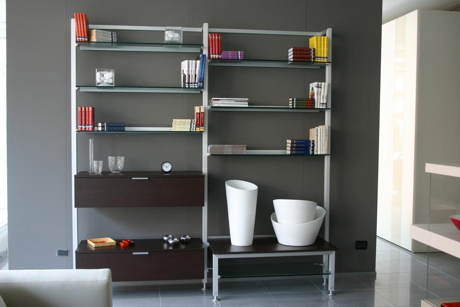 mobile libreria Gallery Calligaris in offerta | Carminati e Sonzogni ...
