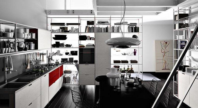 Valcucine cucina modello Meccanica