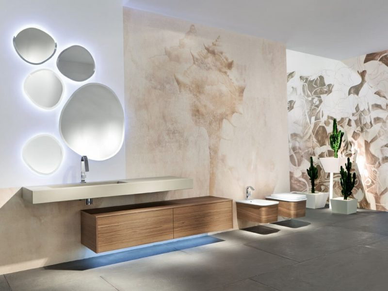 mobile da bagno in legno atlante di edone design