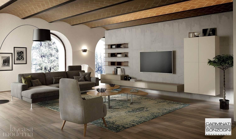 Soggiorno c la casa moderna carminati e sonzogni arredamenti for Casa moderna soggiorno