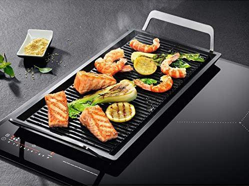 plancia bistecchiera AEG per piano cottura induzione e gas