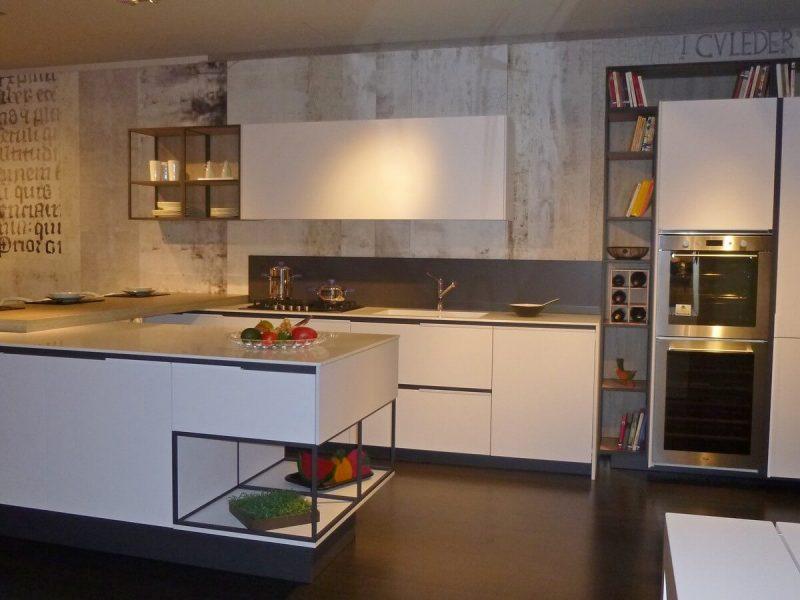 promozione-cucine-snaidero-modello-orange-evolution-vista isola-centrale