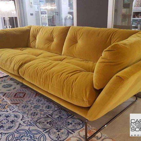 salotto New York Suite Saba in vendita nel nostro showroom di Zogno Bergamo