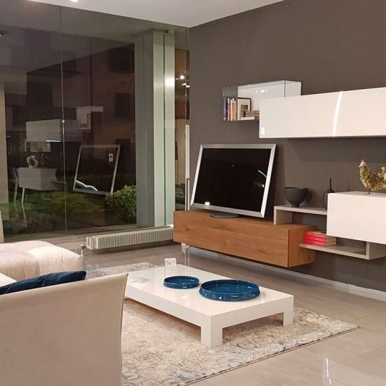 soggiorni moderni, negozi di mobili Bergamo, soggiorno Lago,
