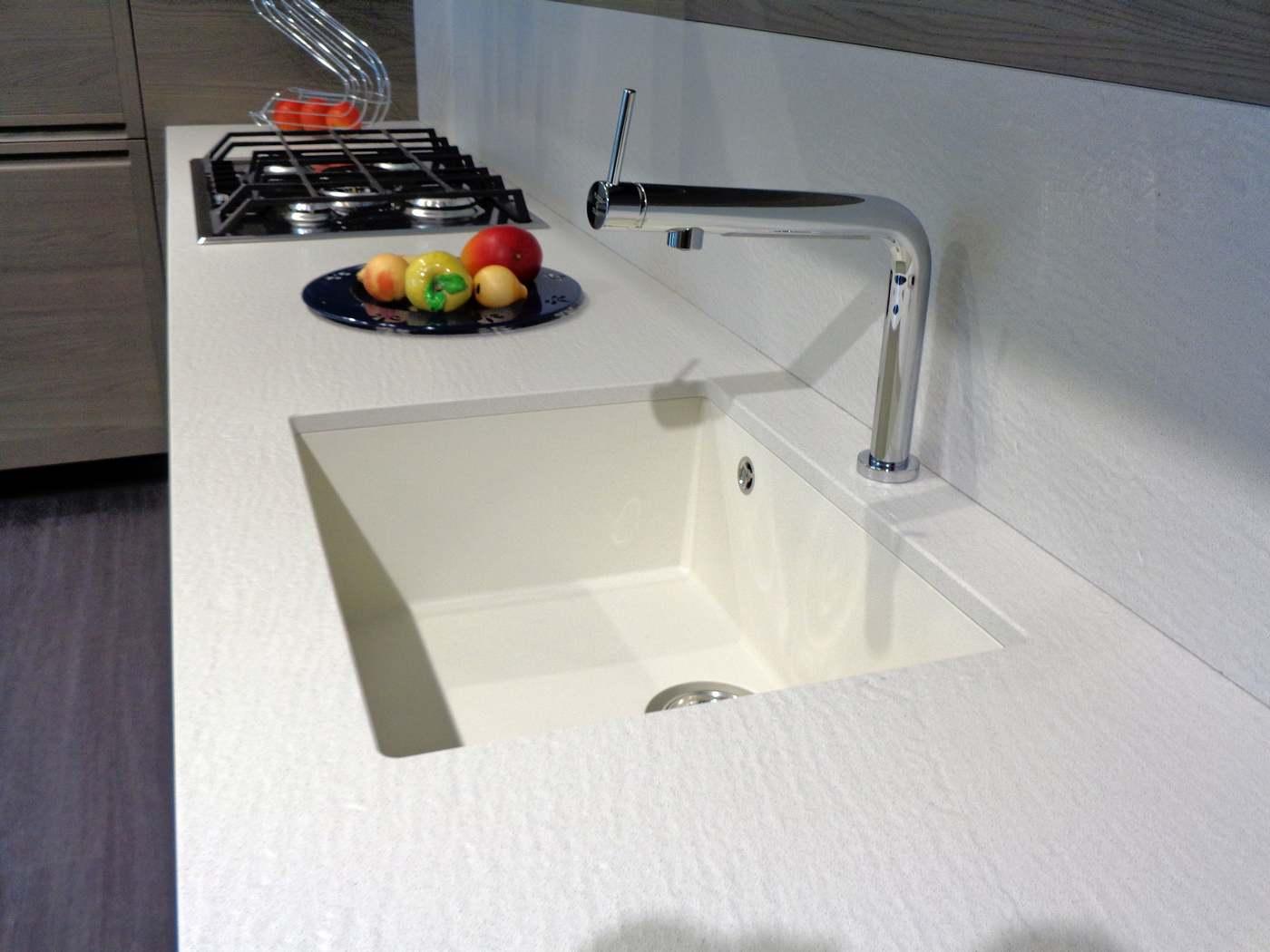 vasca lavello sottotop in micro ultra granit Plados