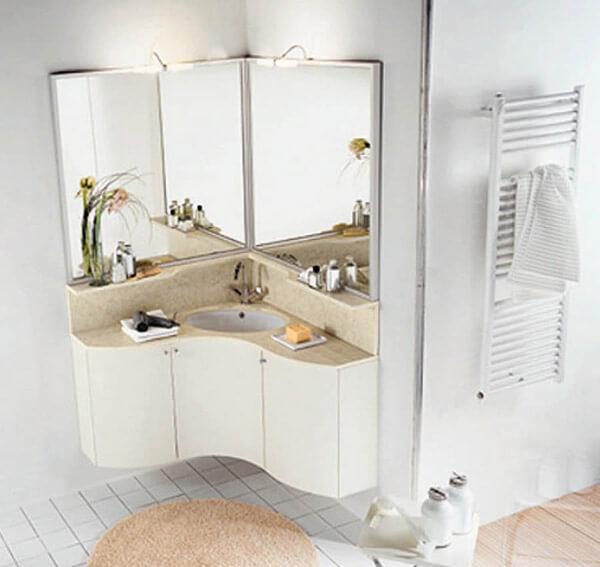 Lavabo Ad Angolo Con Mobiletto.Arredo Bagno Mobili Da Bagno A Bergamo E Provincia Carminati E