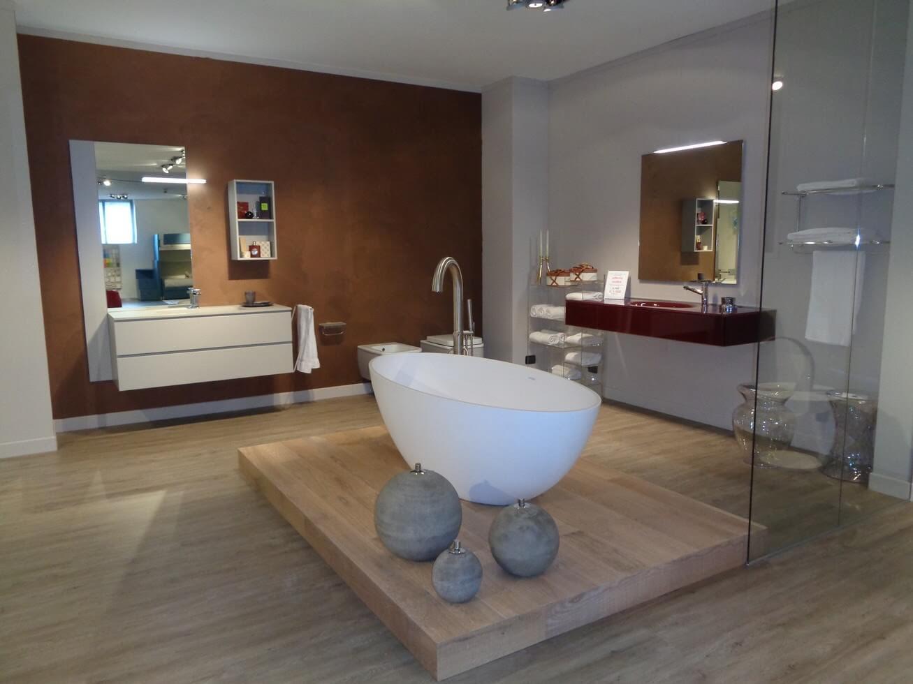 zona bagni la casa moderna